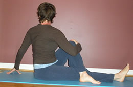 Yoga Pose - Seated Spinal Twist