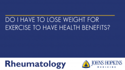 Don't I Have to Lose Weight for Exercise to Have Health Benefits?
