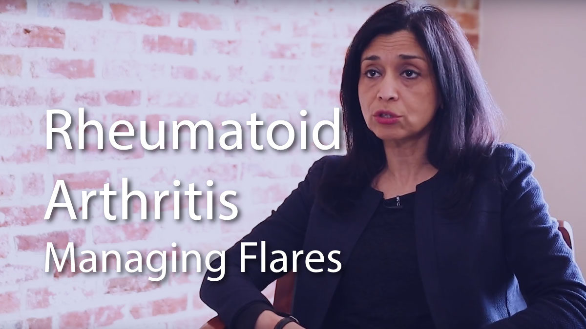 How to Manage Rheumatoid Arthritis Flares