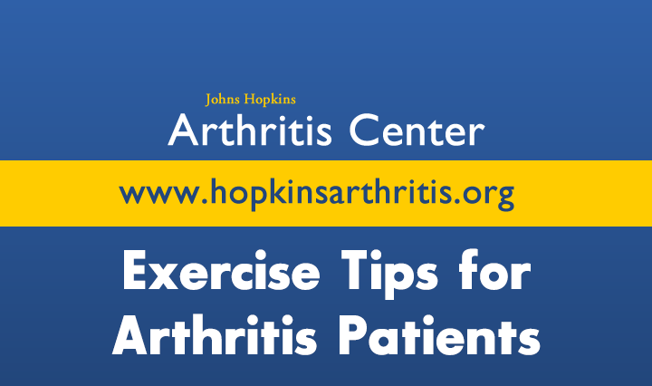Exercise Tips for Arthritis Patients